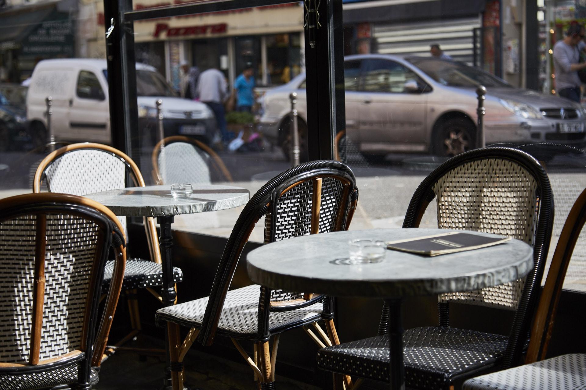 Terrasse L'Amour Vache Brasserie