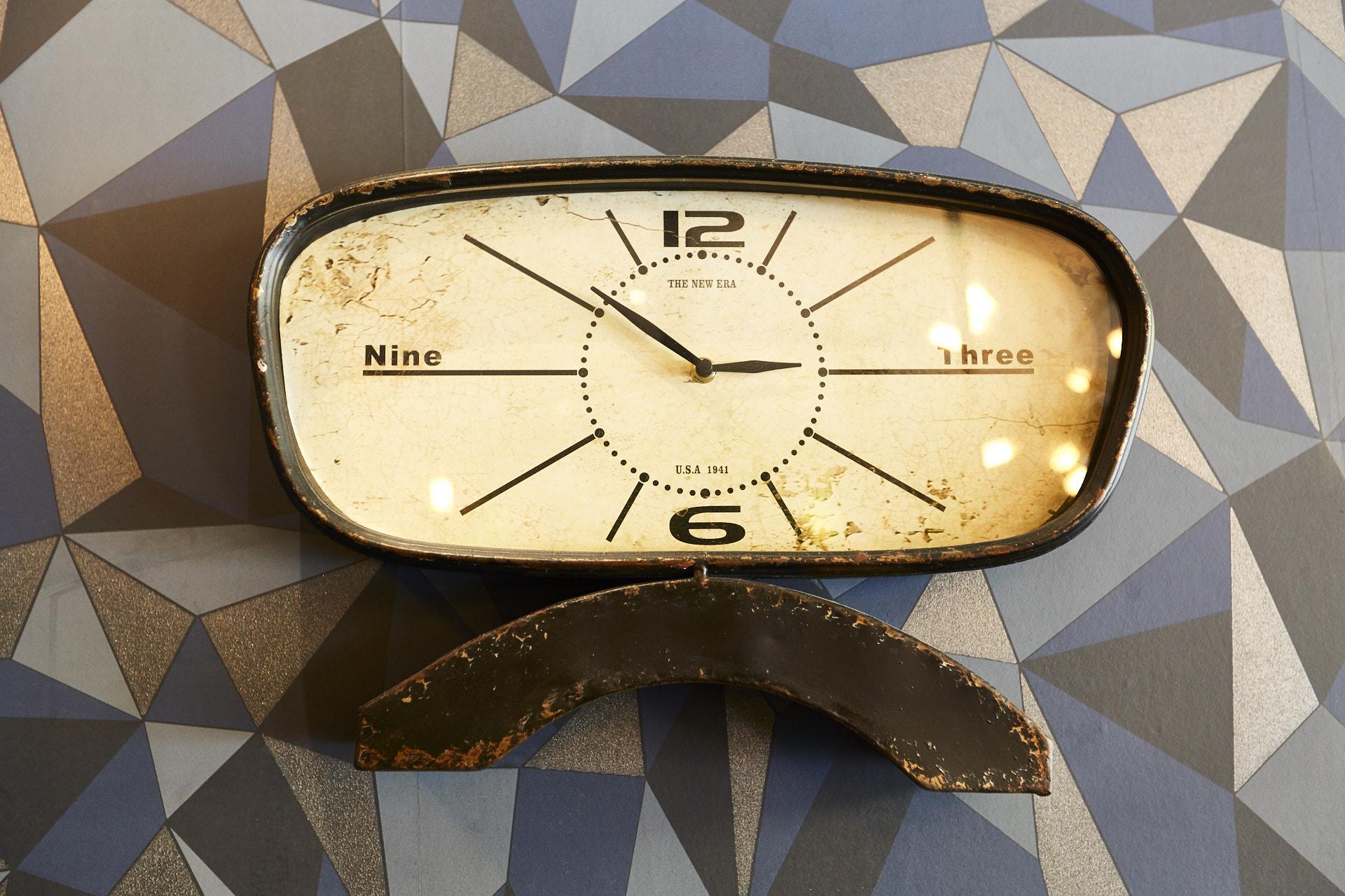 Horloge L'Amour Vache Brasserie
